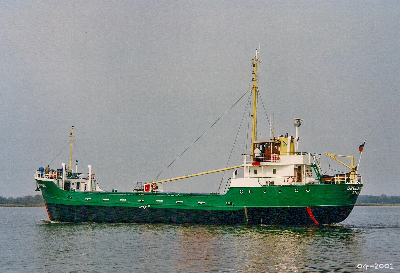 Auf der Elbe 2001