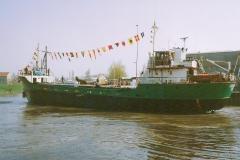 Erstmals wieder im Stader Hafen, 22.4.1994